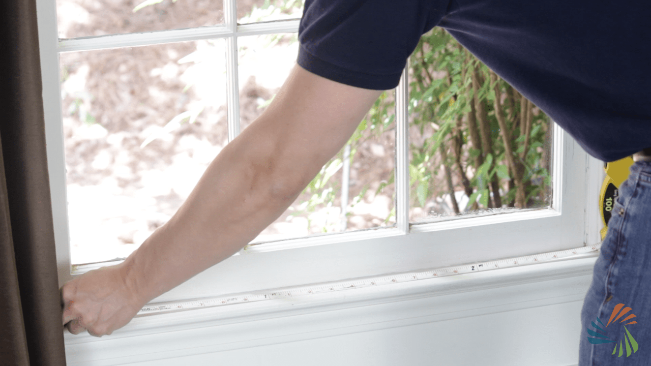 Do it yourself window air conditioner installation guide step 1 find the center of your window publicscrutiny Images