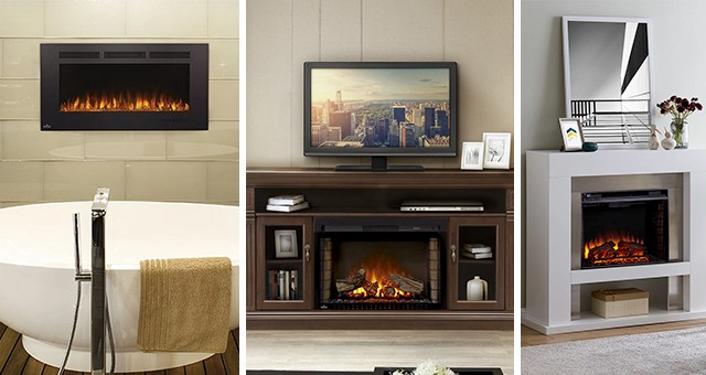 5 Electric Fireplaces For Every Type Of Decor Sylvane