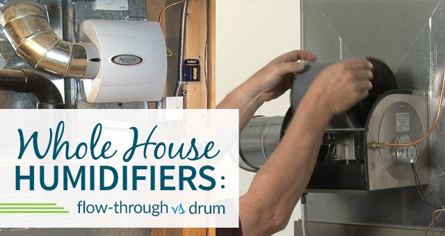 Flow-Through Humidifier Vs. Drum Humidifier Comparison ...