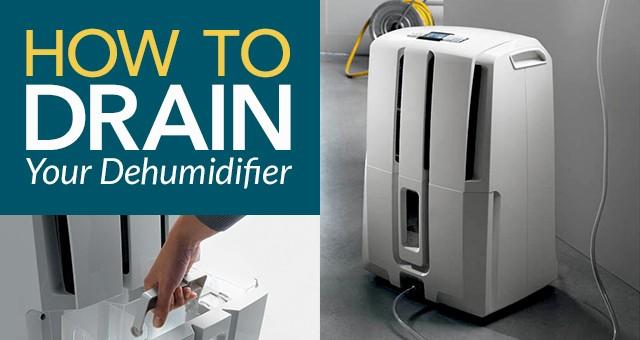 How to Drain Your Dehumidifier Haier Dehumidifier Wiring Diagram on