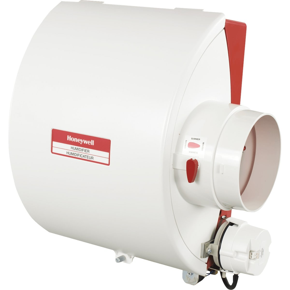 Captivating Drum Humidifier Is A Great Choice. These Humidifiers Work With A Central Air  System   And Install Onto Your HVAC Unit And Directly Connect To The Water  Line ...