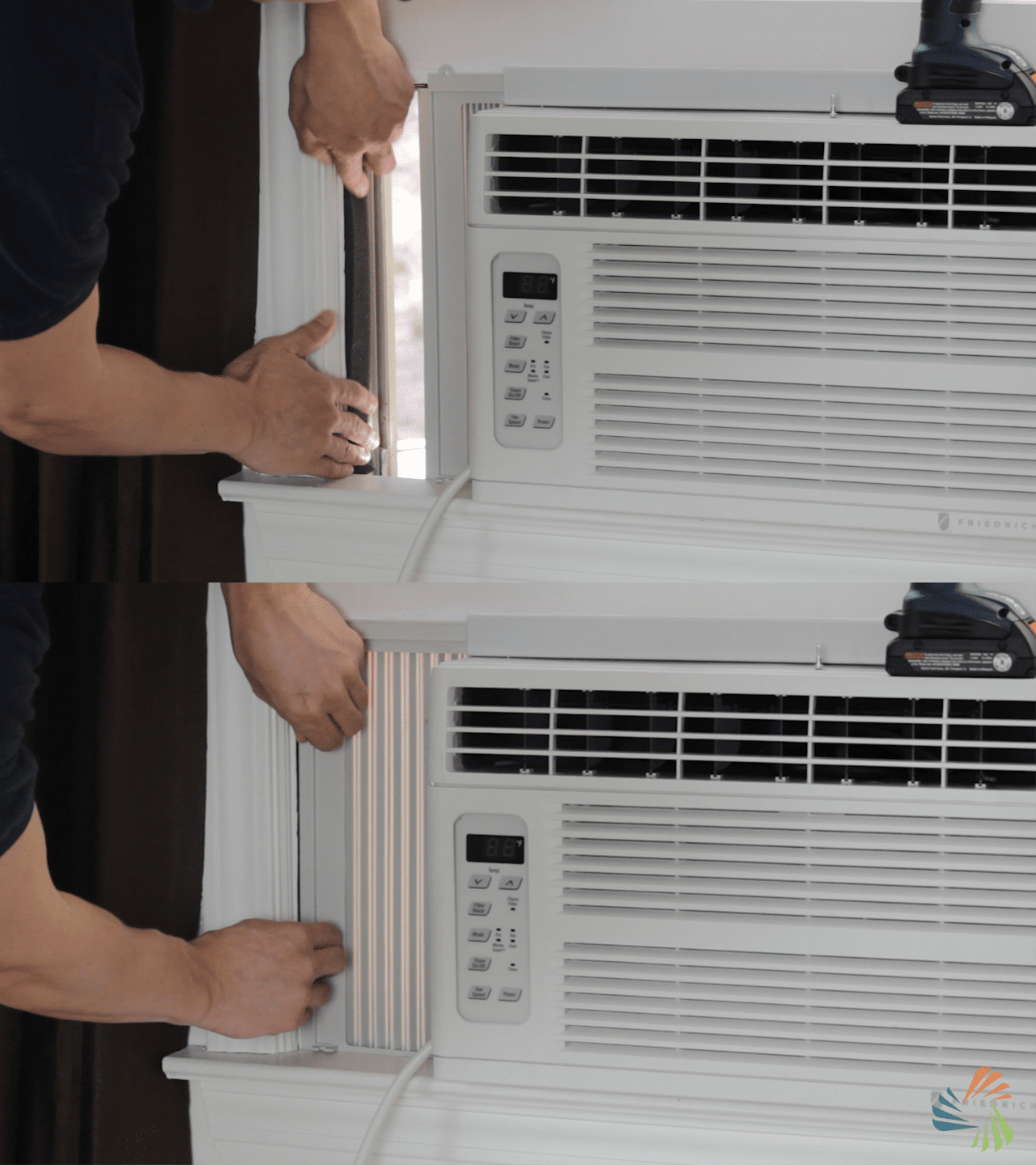 Diy air conditioner curtain curtain menzilperde net for Portable window curtain