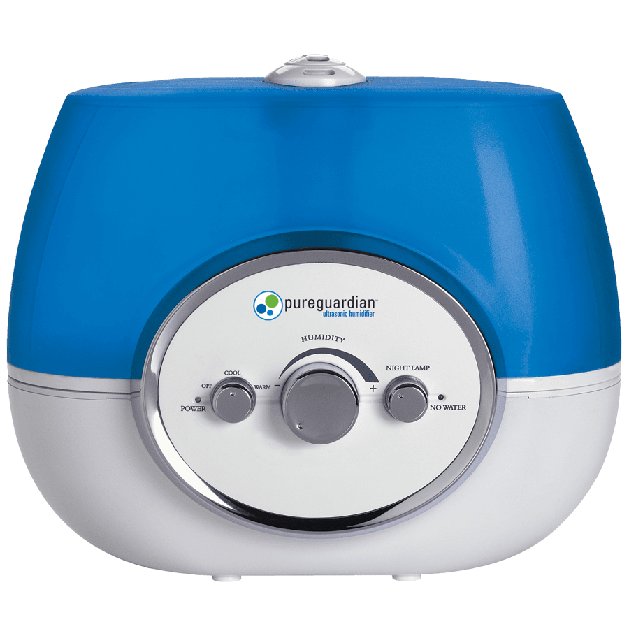 PureGuardian 100-Hour Warm or Cool Mist Ultrasonic Humidifier - H1510 ge3558
