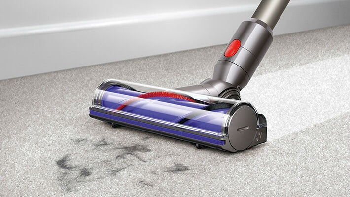 Dyson Direct Drive Cleaner Head on Carpet