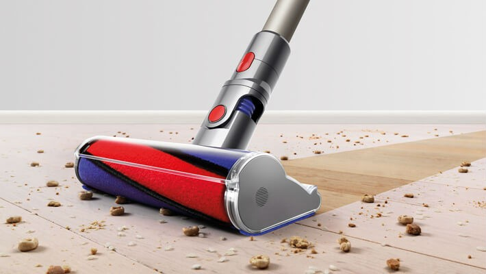 Dyson Soft Roller Cleaner Head on Carpet