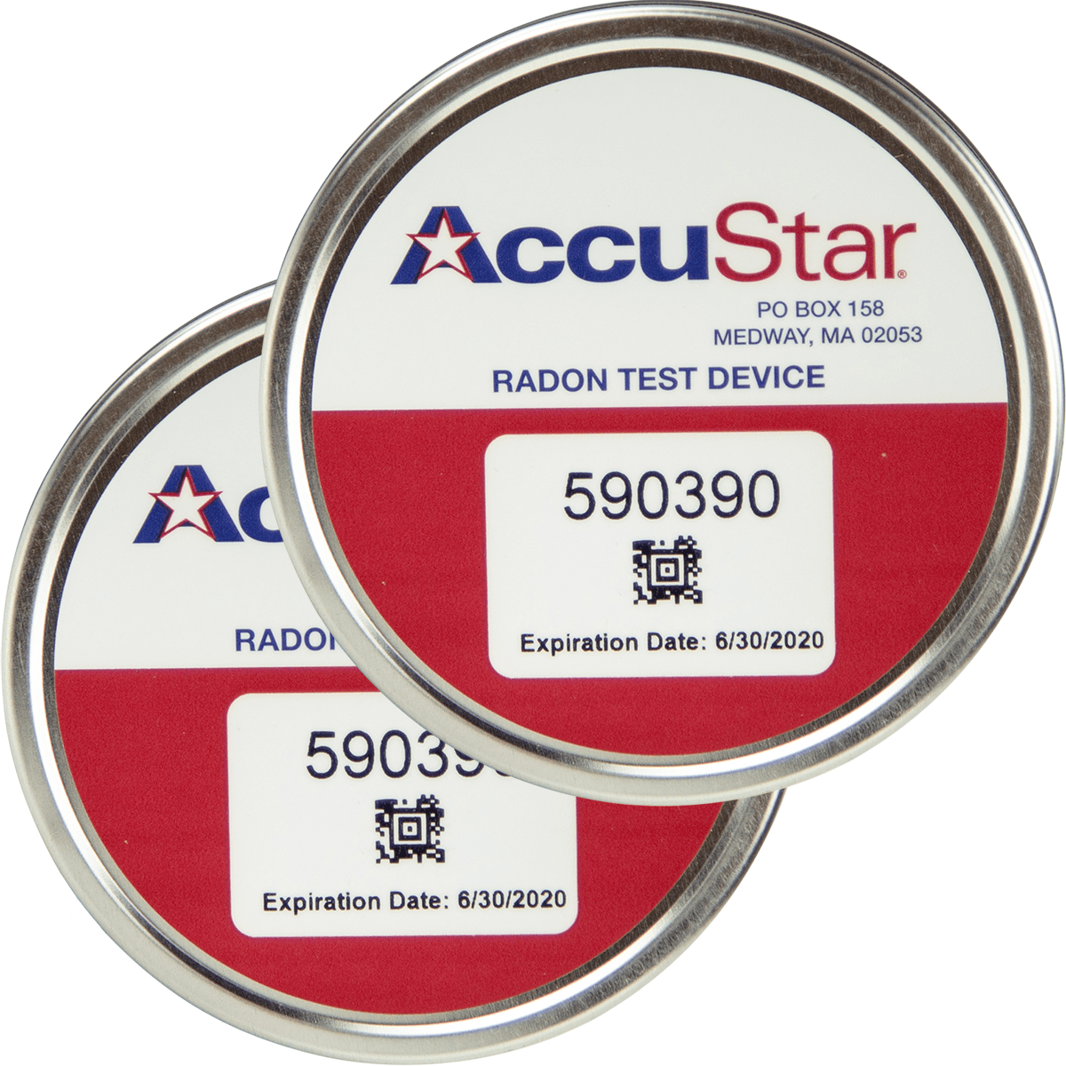 Accustar Picocan 400 Activated Charcoal Canisters - Double