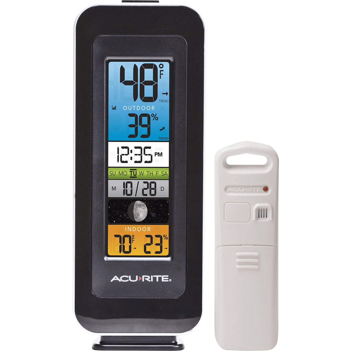 Acu-rite Digital Remote Thermometer / Hygrometer - Color
