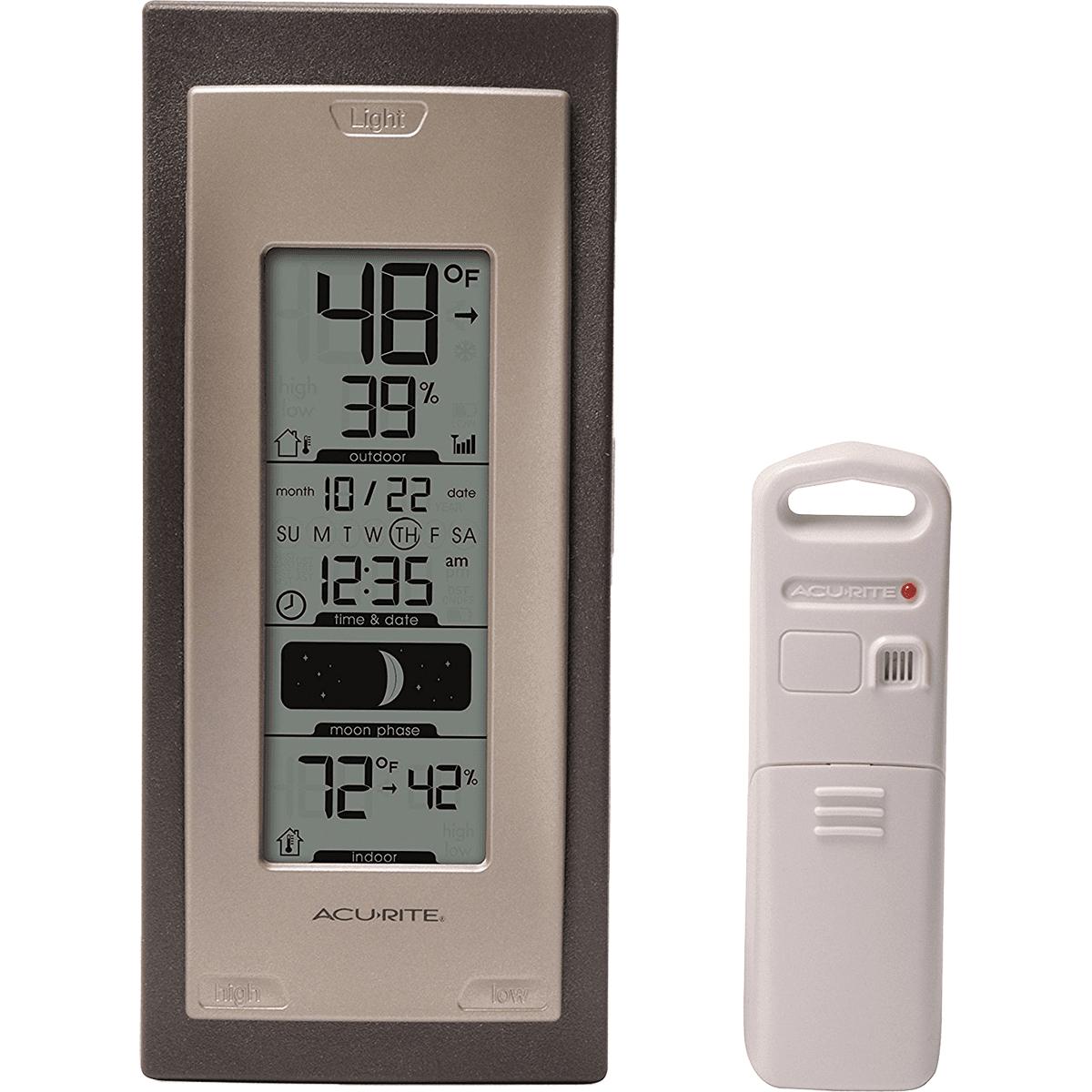 Acu-rite Remote Thermometer / Hygrometer - Digital