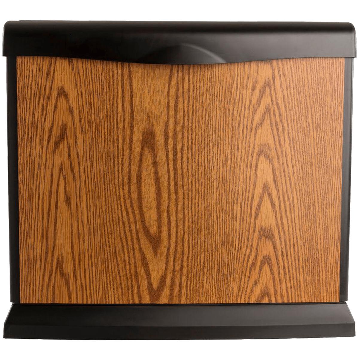 Image of Aircare Valiant 5-gallon Whole House Console Humidifier -- Oak