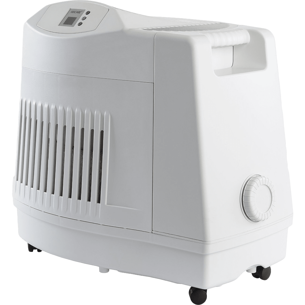 AIRCARE MA1201 Evaporative Console Humidifier - side angle view
