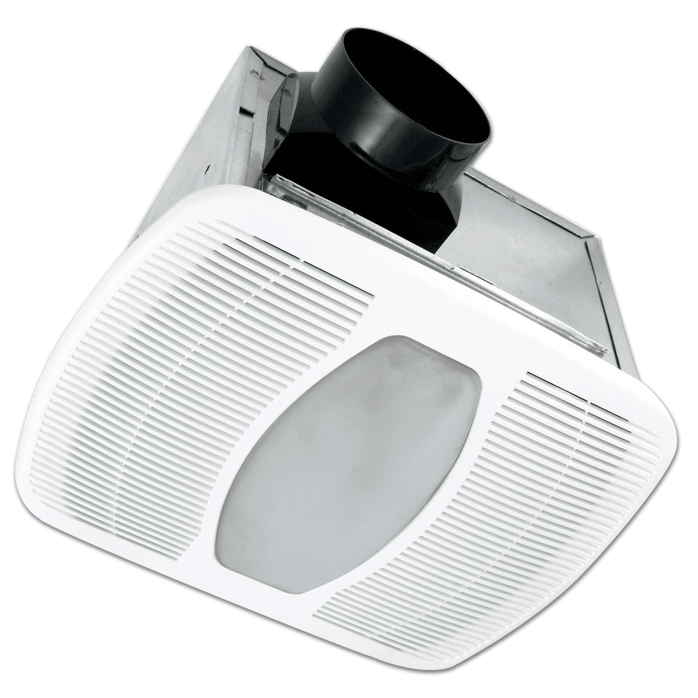 Air King 100 Cfm Energy Star Qualified Exhaust Fan With Light - Ledak100