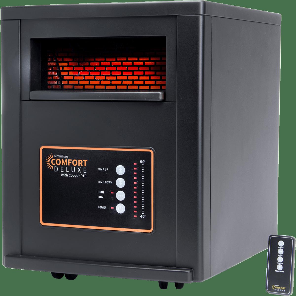 AirNmore Comfort Deluxe Infrared Space Heater Model: YD-903G-CDA