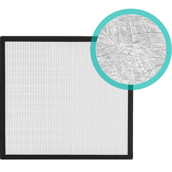 Alen BreatheSmart Replacement HEPA-Silver Filter (BF35-Silver-Carbon) al3056