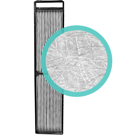Alen Paralda Replacement HEPA-Silver Filter al1579