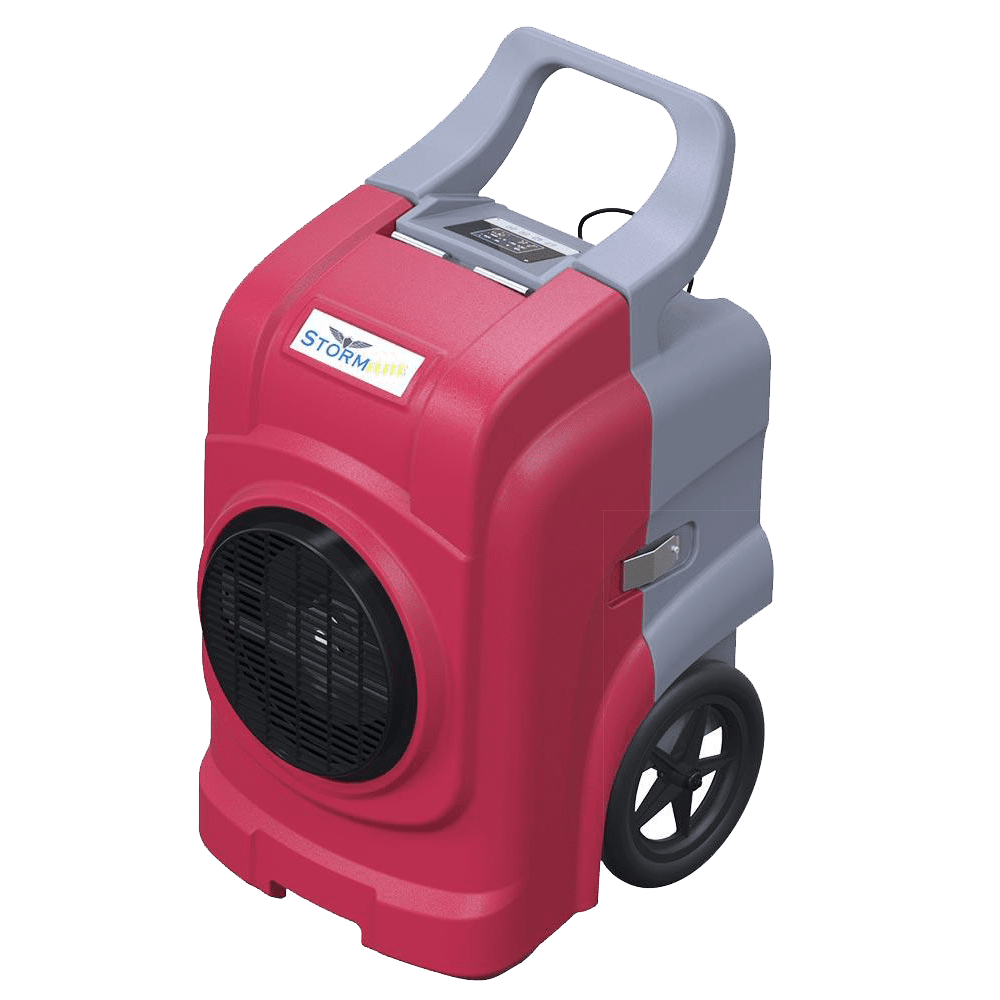 Image of Alorair Storm Elite Commercial Dehumidifier - Red