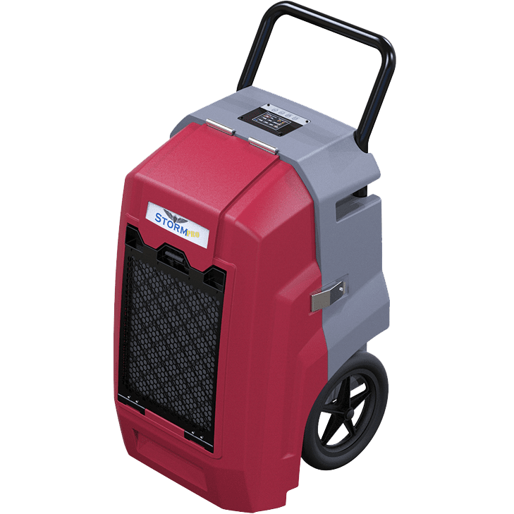 Image of Alorair Storm Pro Commercial Dehumidifier - Red
