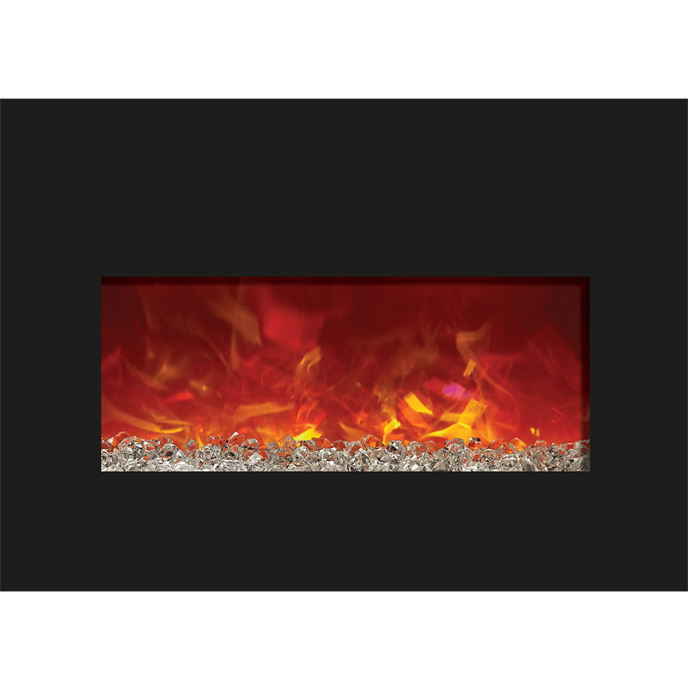 Image of Amantii Medium Electric Fireplace Insert