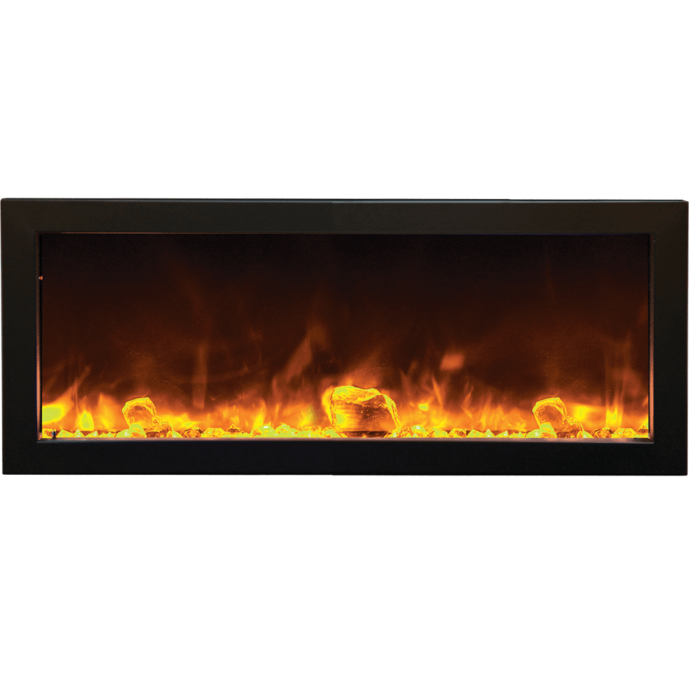 Image of Amantii Panorama 40-inch Slim Full Frame Electric Fireplace