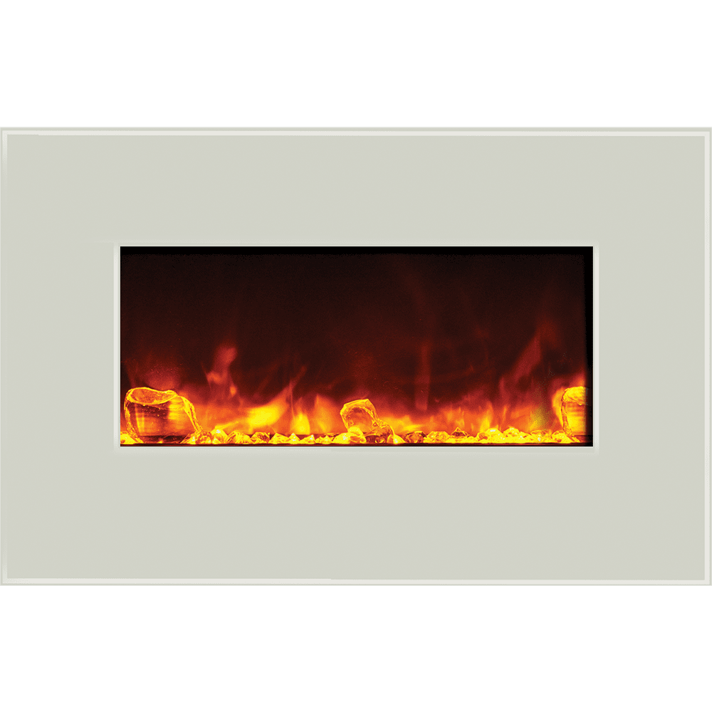amantii fire u0026 ice series fireplaces wall mount or built in