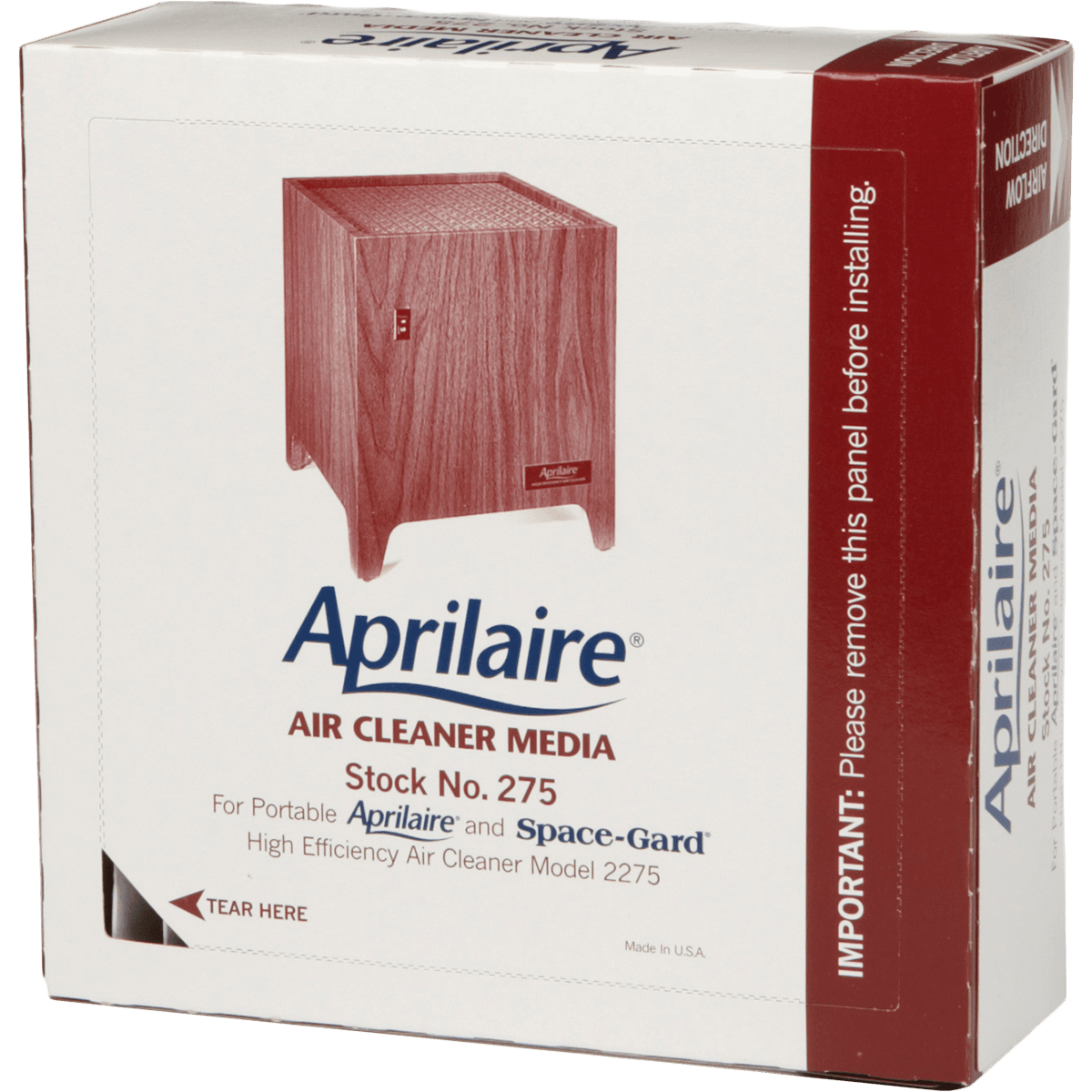 Aprilaire Replacement Filter for 2275 Portable Air Cleaner (0275) ap5681