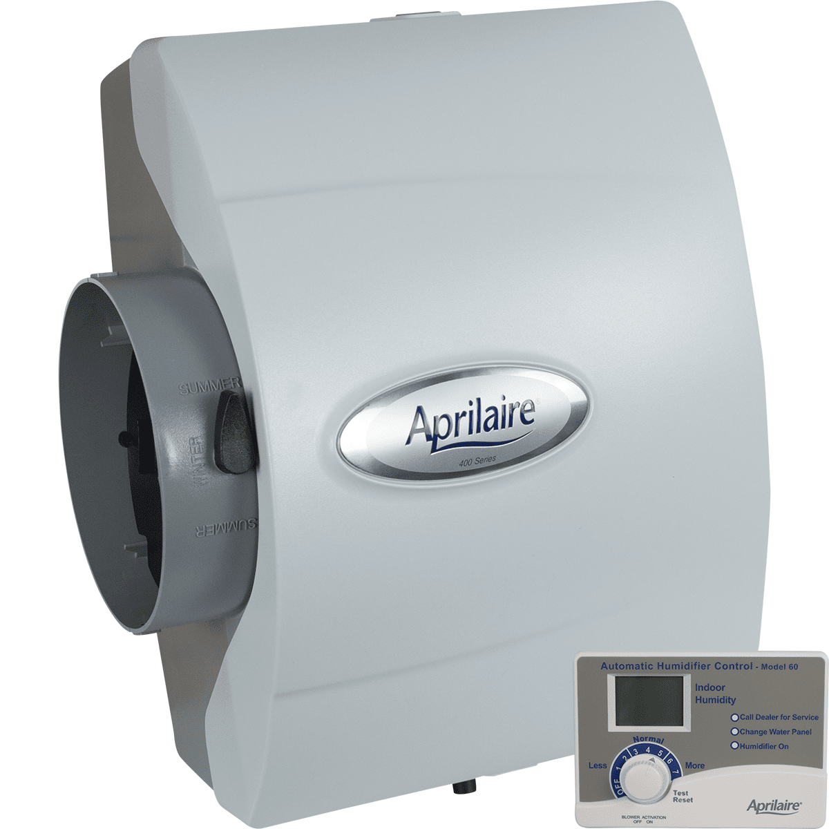 Image of Aprilaire 400 Drainless Bypass Humidifier - Auto Digital Control