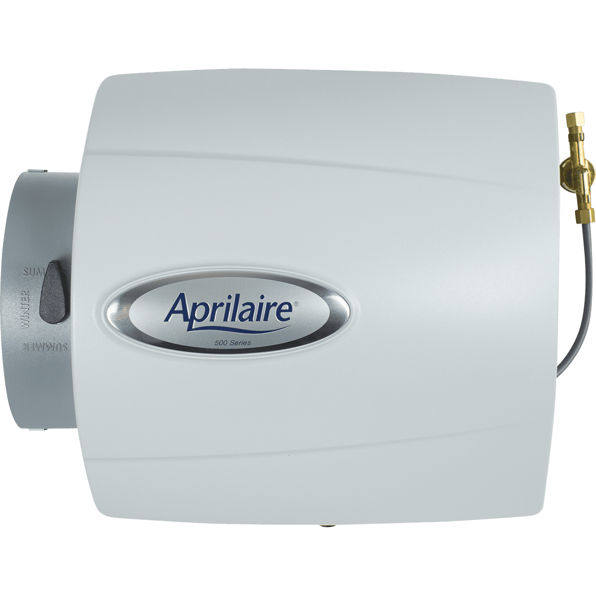 Aprilaire Model 500 Small Whole House Humidifiers Sylvane 700 Automatic Power Humidifier With Digital Controller Bypass Front