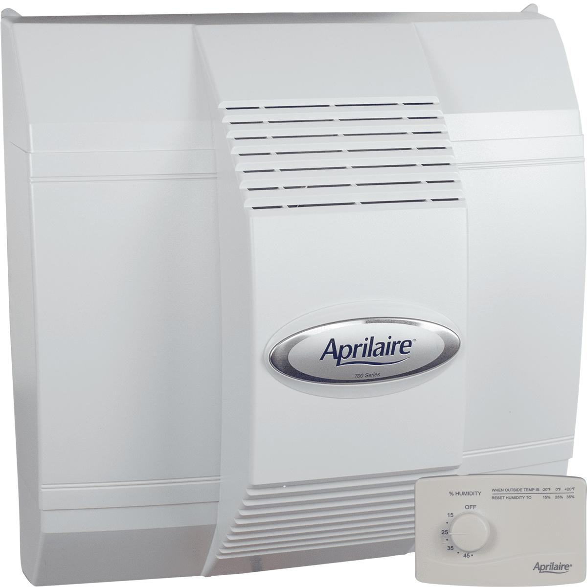 Aprilaire Model 700 High-capacity Humidifier - Manual Control
