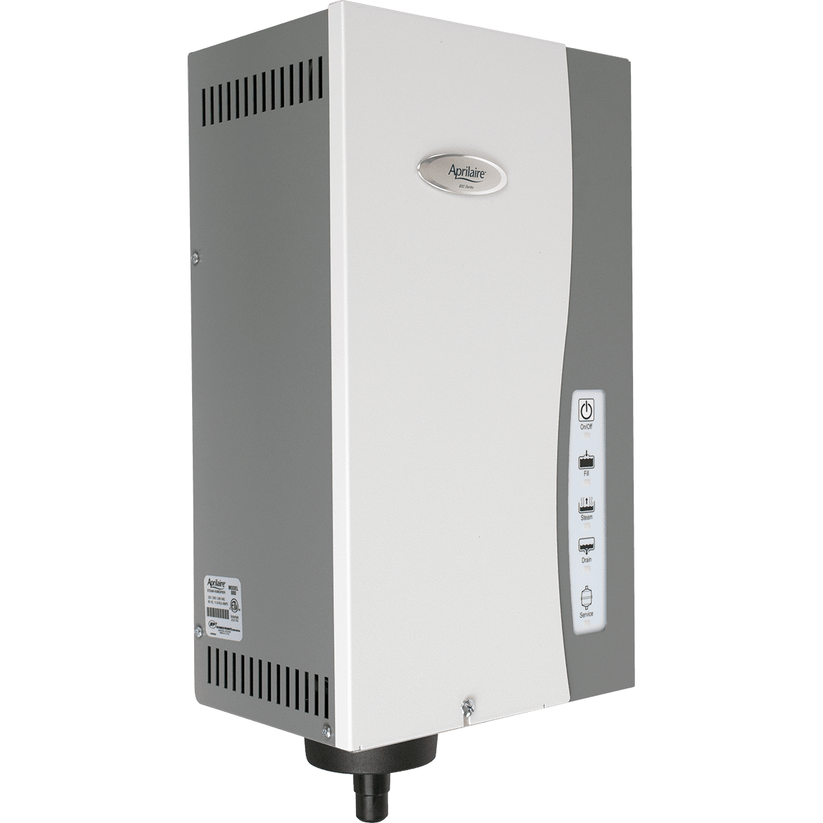 Aprilaire Model 800 Whole House Steam Humidifier Sylvane Electrical Wiring In The Home 220 Volt Problem Loud Bang Volts