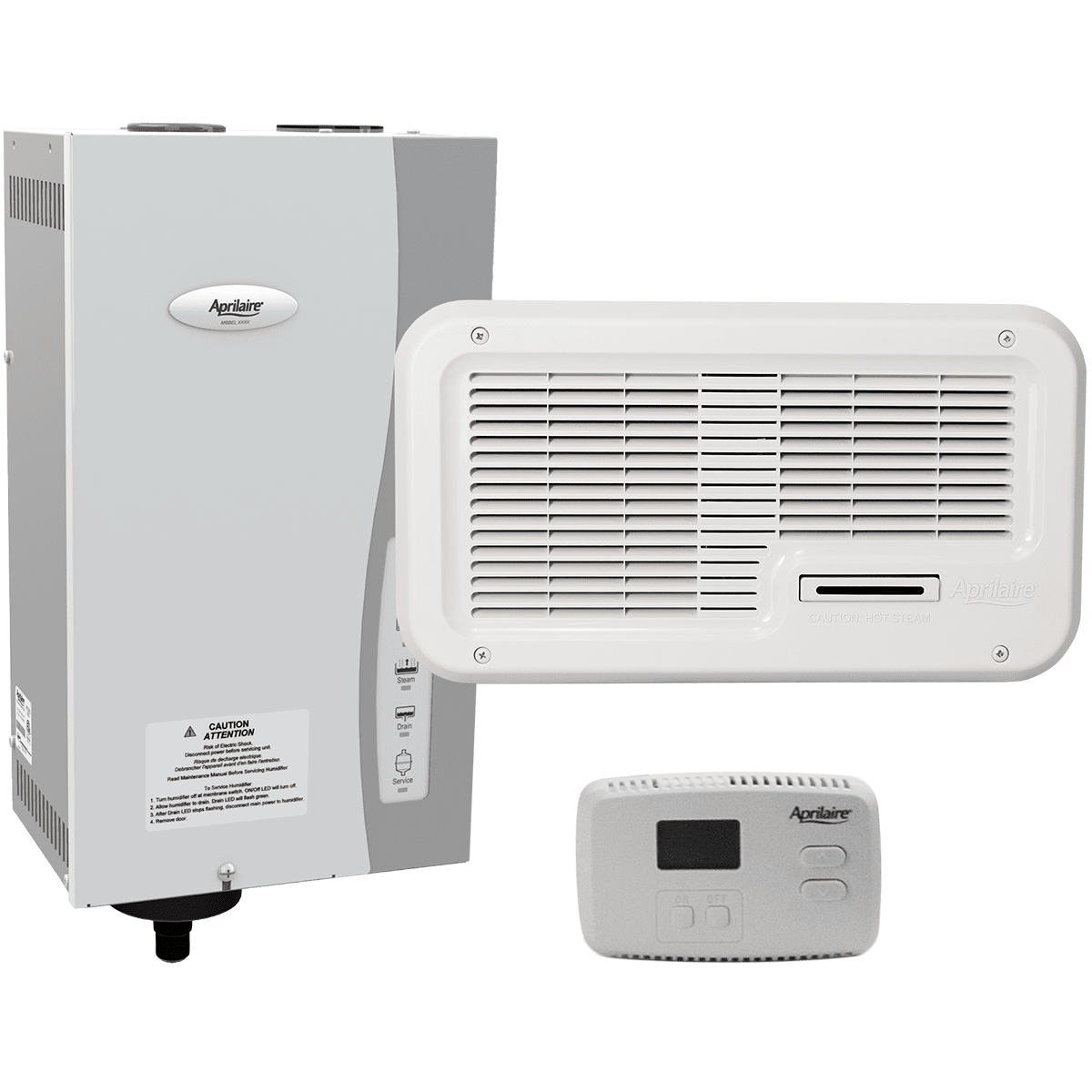 Image of Aprilaire Model 865 Ductless Steam Humidifier Package