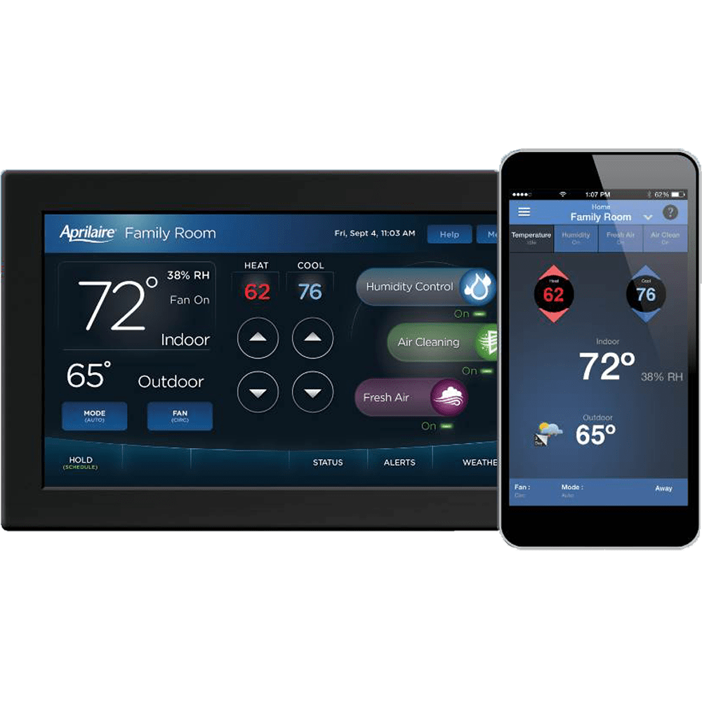 Aprilaire Universal Touch Screen Wi Fi 8920w Thermostat Sylvane Oreck Wiring Diagram Color Iaq