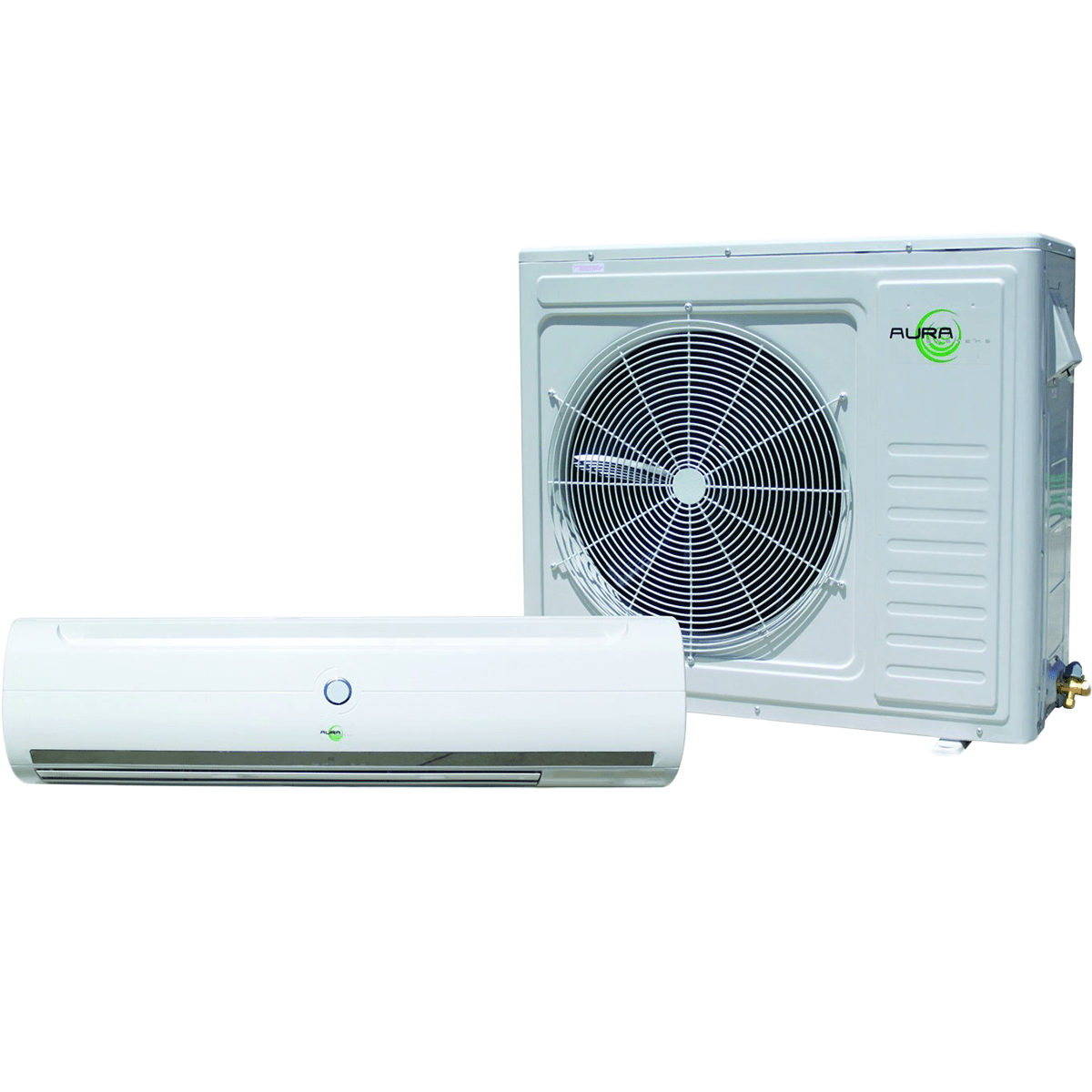 Aura Systems 36,000 Btu Fast Connect Mini Split W/ Heat Pump (au-036qc)