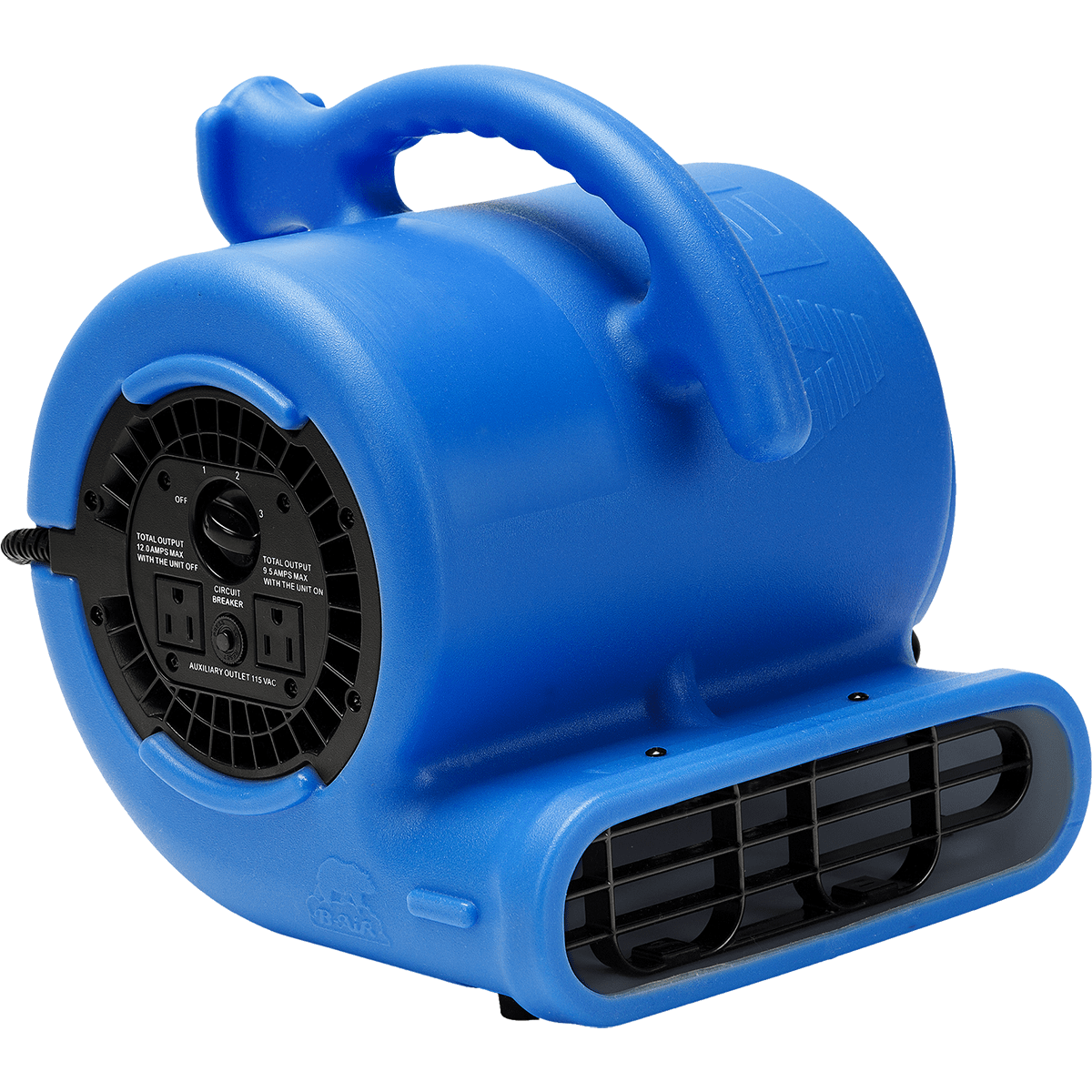 B-air Vent Vp-25 Compact Air Mover - Blue