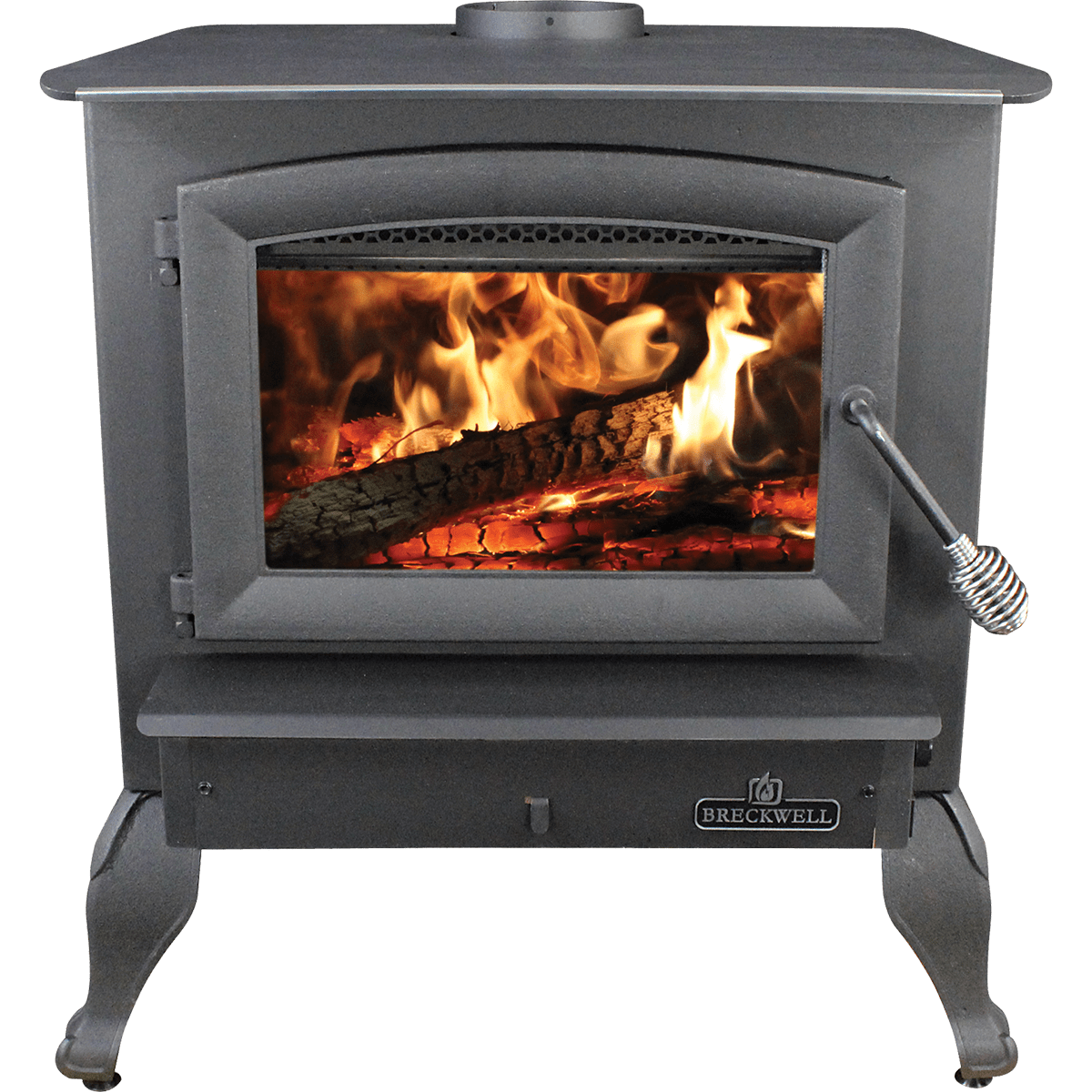Breckwell Sw740 Wood Stove With Legs, Pedestal, Or Insert