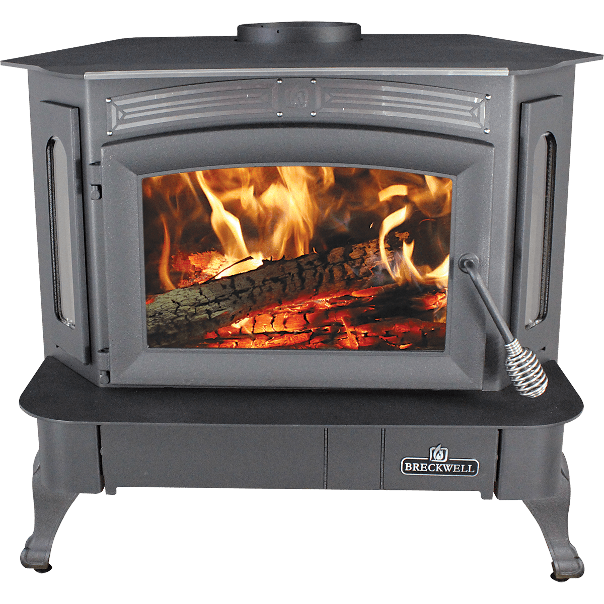 Breckwell Sw940 Wood Stove - Legs, Pedestal, Or Insert Options