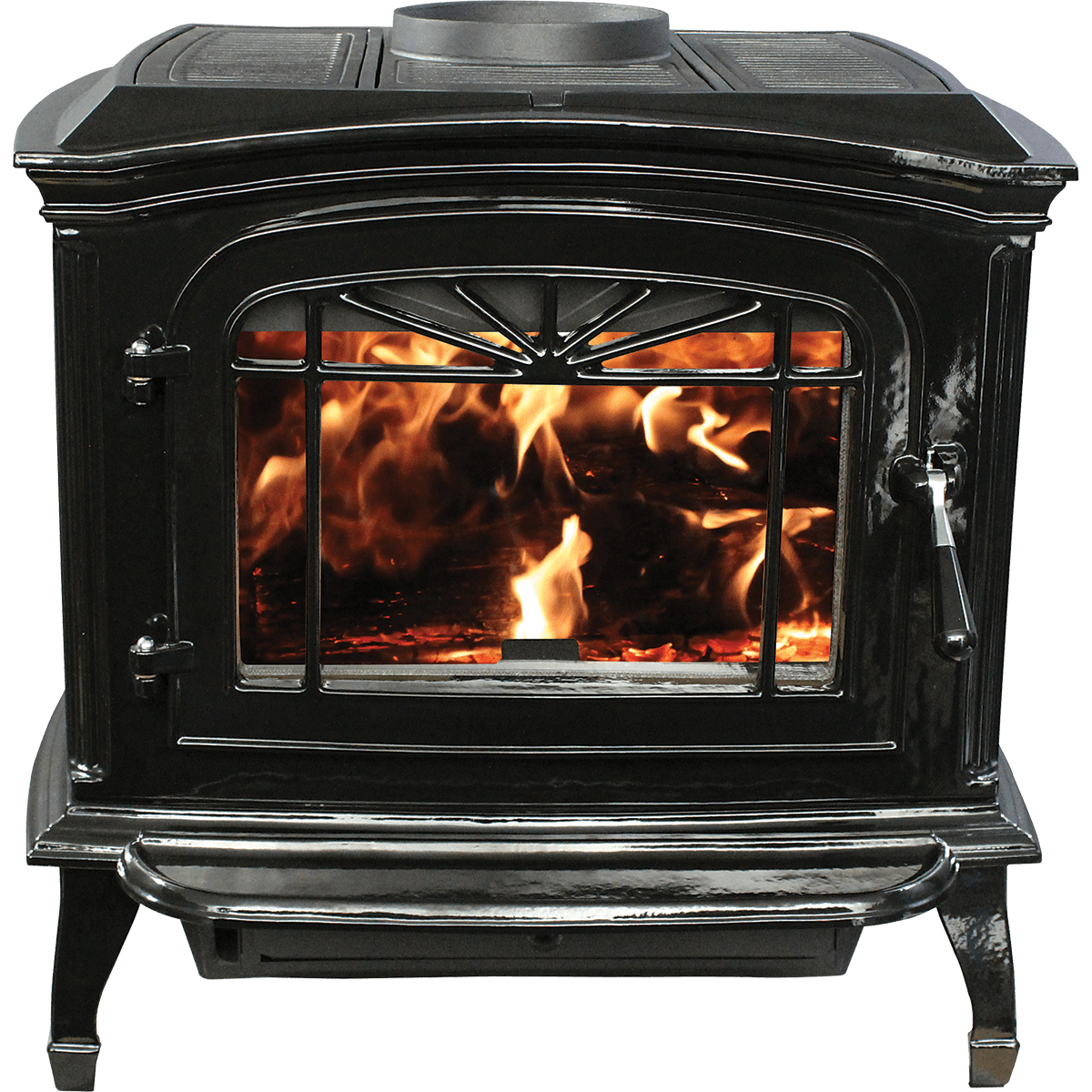 Breckwell Cast Iron Wood Stove (swc21)