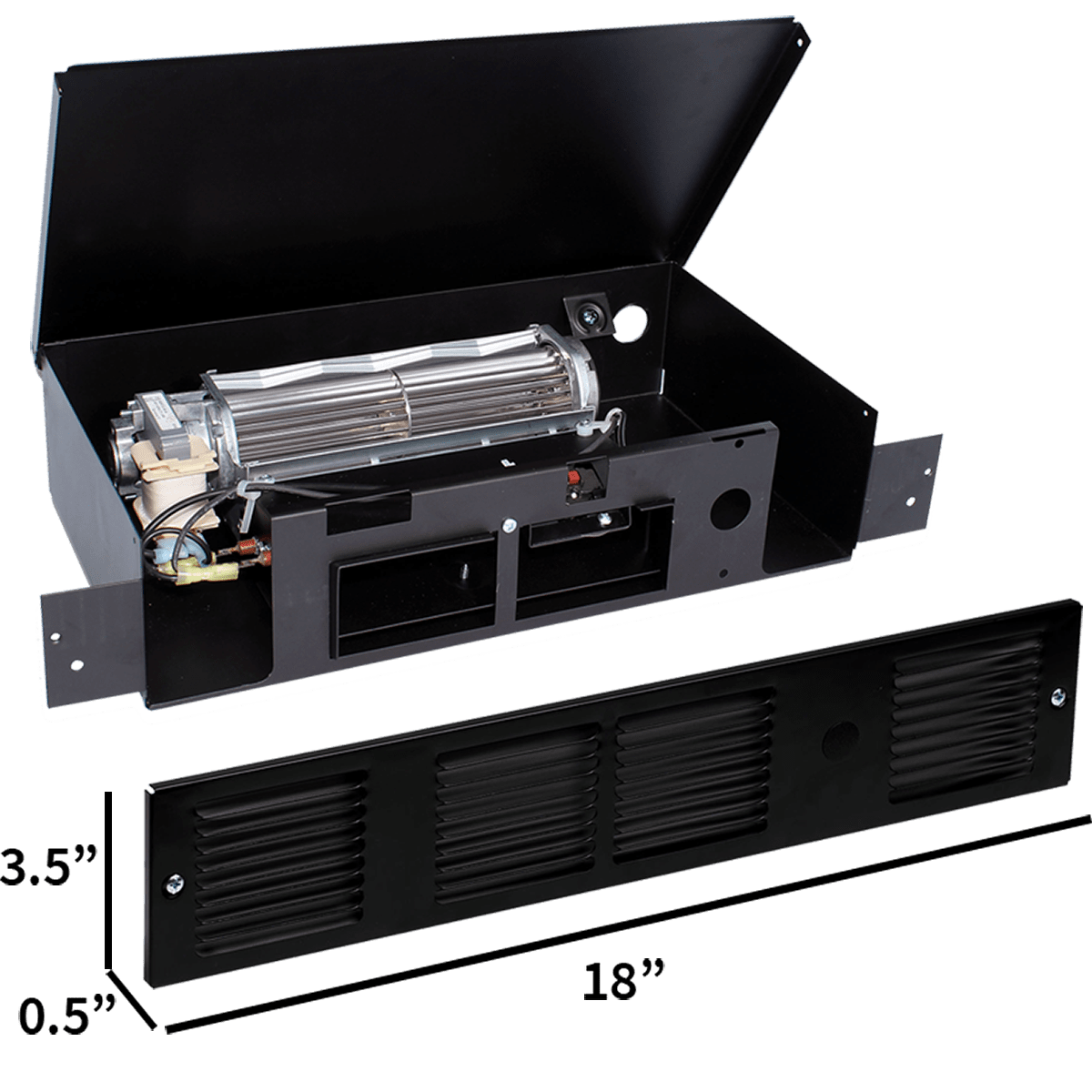 Cadet Perfectoe 1000 Watt Under Cabinet Heaters   UC101B U0026 UC102B | Sylvane