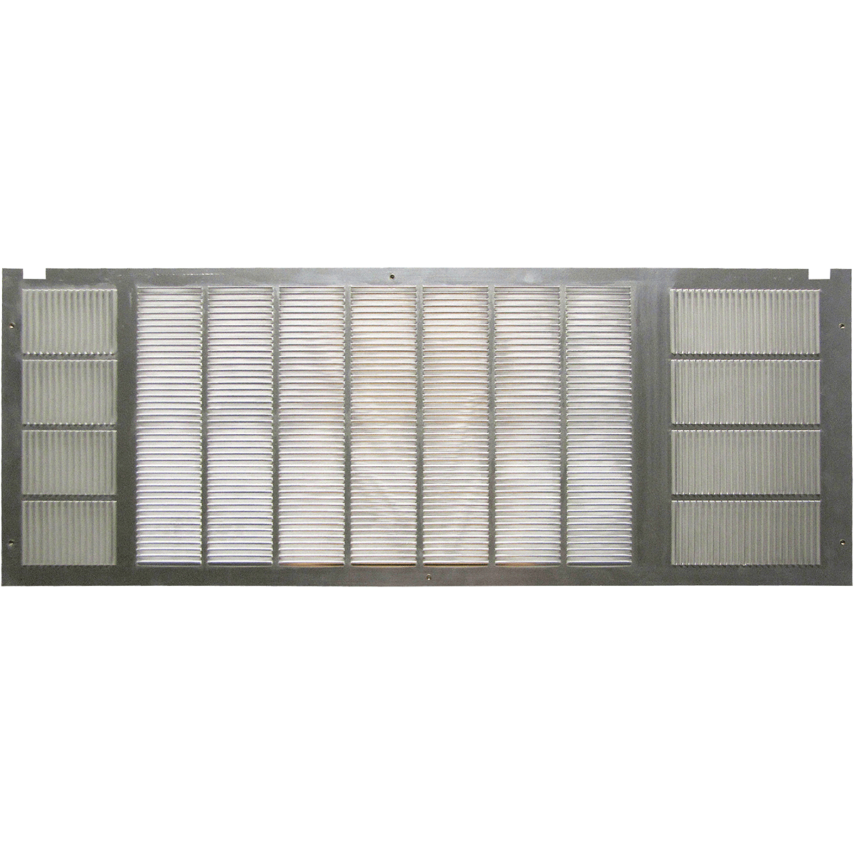 Comfort-aire Exterior Grill Stamped Aluminum 7602-501f
