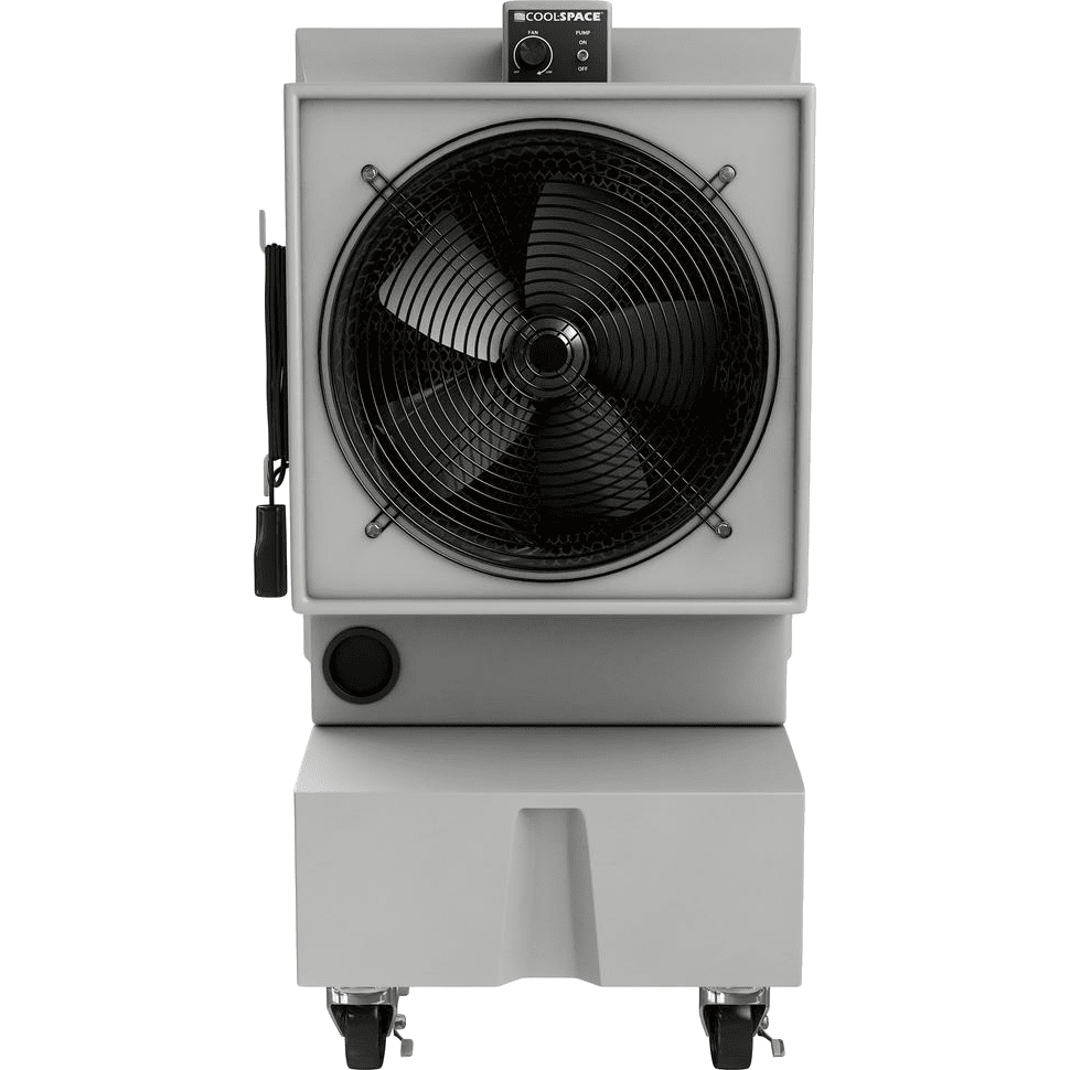 Cool-space 2,825 Cfm Glacier Evaporative Cooler
