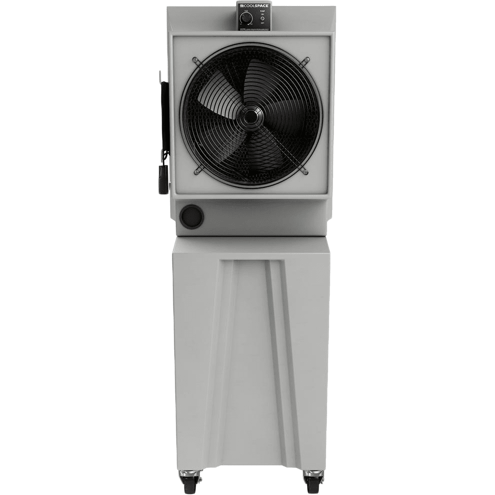 Cool-space 2,825 Cfm Large Reservoir Glacier Evaporative Cooler