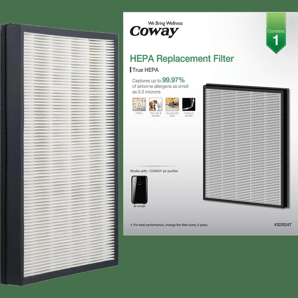 Coway MASK2 Air Purifier Replacement HEPA Filter AP 1012GH HEPA. Coway AP 1012GH Air Purifier Replacement HEPA Filter   Sylvane