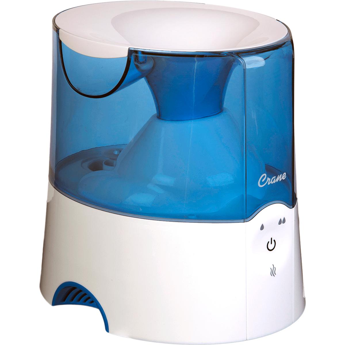 Crane 2-in-1 Warm Mist Humidifier And Steam Inhaler