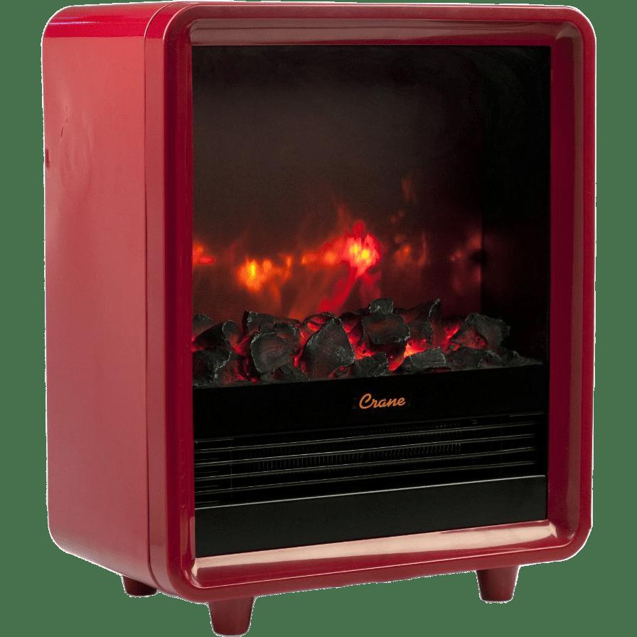 Crane Mini Fireplace Heater Ee 8075 Free Shipping Sylvane