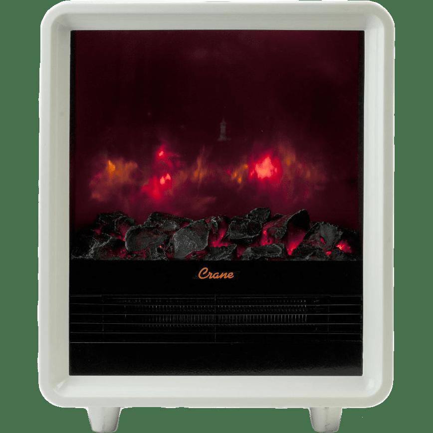 Crane Mini Fireplace Heater Ee 8075 Free Shipping