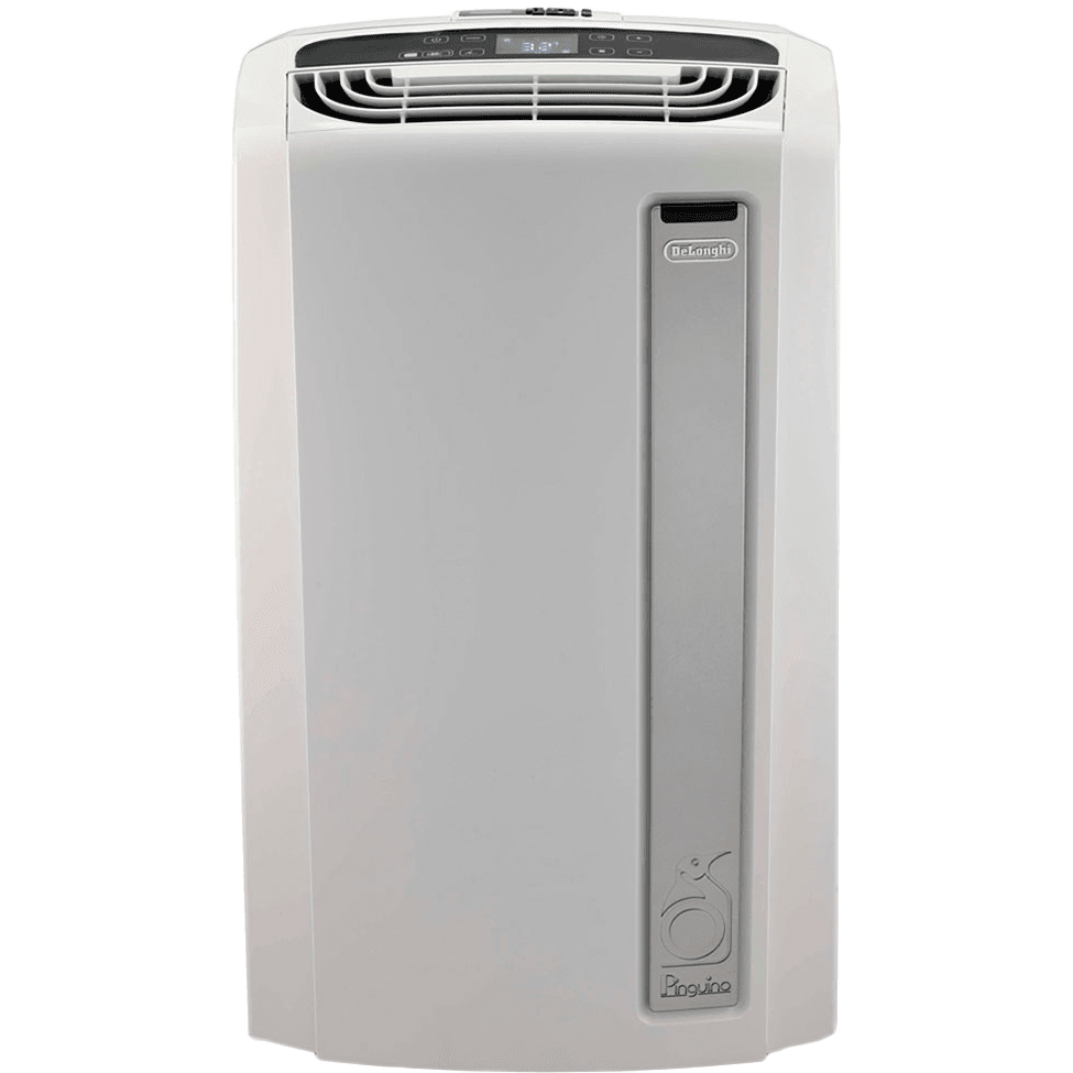 DeLonghi Pinguino PACAN140HPEWS 14,000 BTU Portable Air Conditioner with Heat Pump de3702
