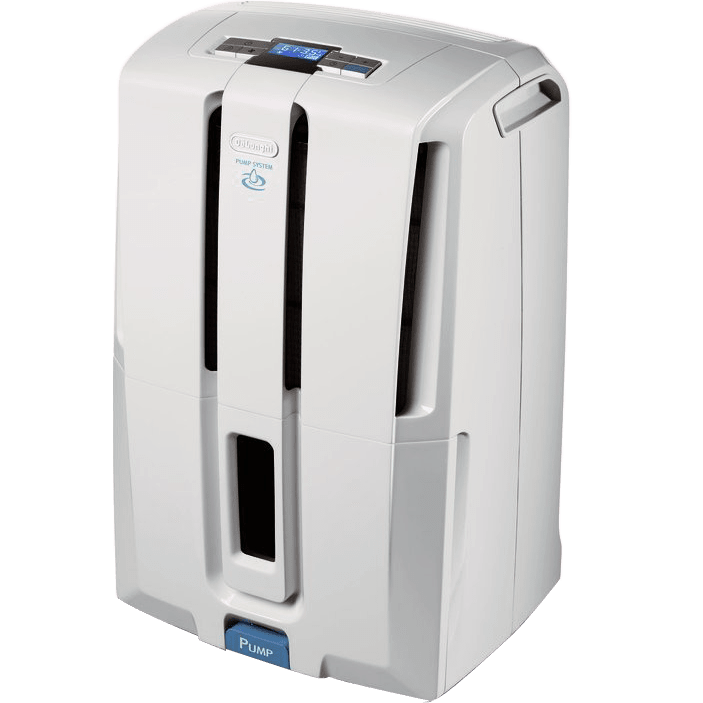 DeLonghi DD50PE 50-Pint Dehumidifier with Built-In Pump de1780