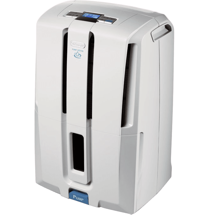 DeLonghi DD70PE 70-Pint Dehumidifier with Built-In Pump de3285