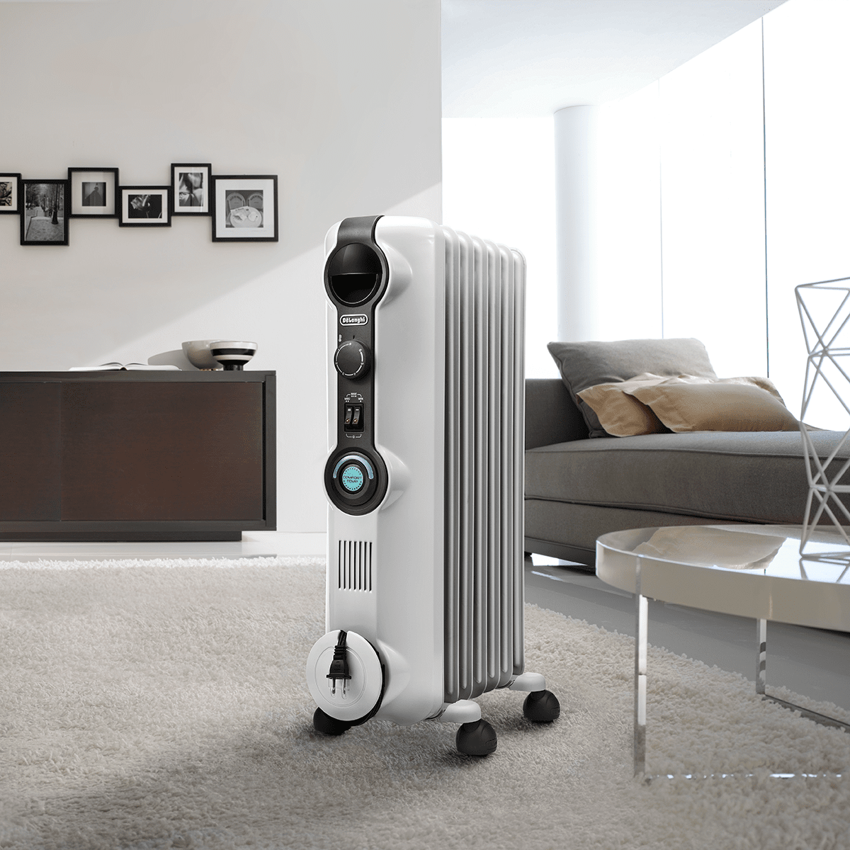 DeLonghi Comfort Temp Full Room Radiant Heater Model: KH390715CM