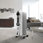 DeLonghi Comfort Temp Full Room Radiant Heater, Light Gray