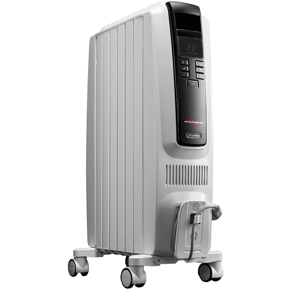 Delonghi  Oil Filled Space Heater with Digital Controls