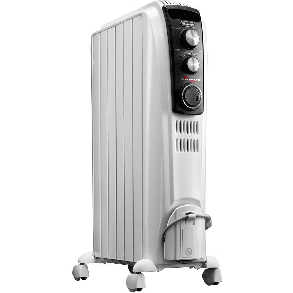 Delonghi Oil Filled Dragon Radiant Full Room Heater with Manual Controls